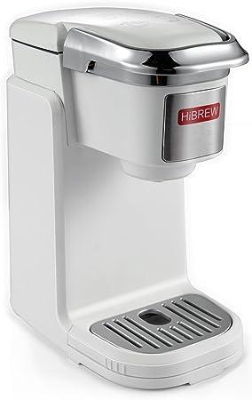 HiBREW máquina de café compacta de una sola porción con sistema de preparación de tazas K para viajes, camping: Amazon.es: Hogar