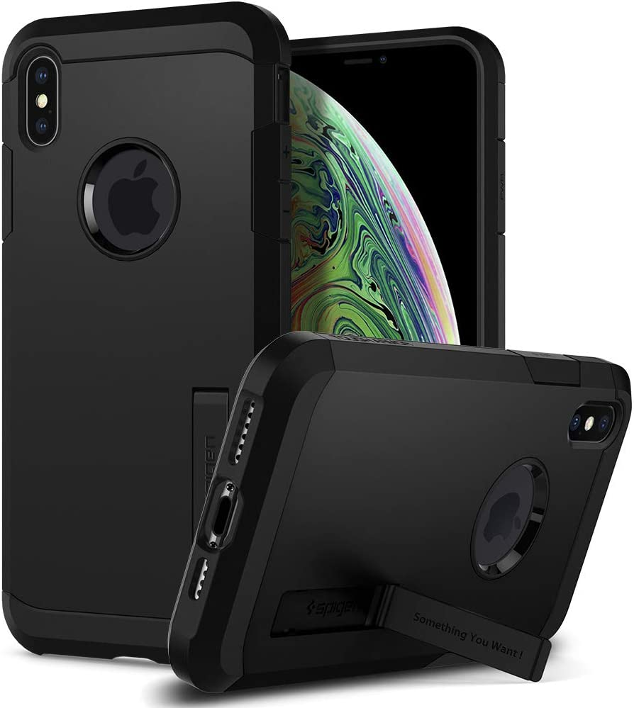 Spigen Tough Armor Designed for iPhone Xs MAX Case (2018) - Black