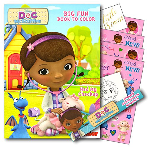 Doc McStuffins Coloring Book Stickers
