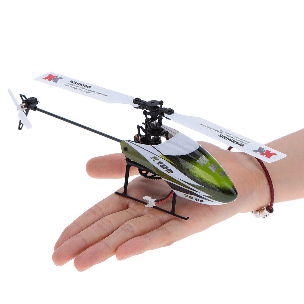 DSstyles XK K100 Falcon K100-B 6CH 3D 6G System Brushless Motor BNF RC Quadrocopter Fernsteuerung Hubschrauber Drohne