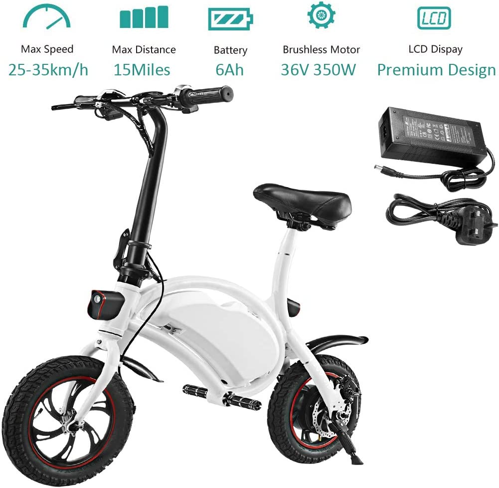 50% Off Coupon – 350W Folding Electric Bicycle with 15 Mile Range