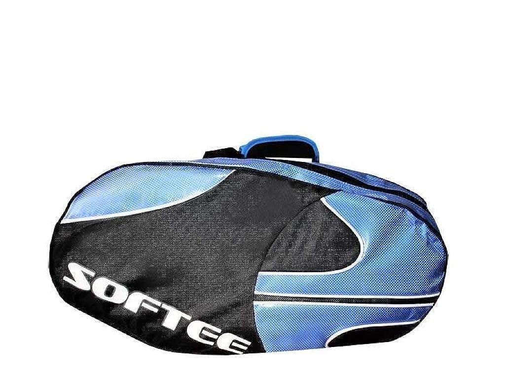 Softee 0014013 Paletero de pádel, Unisex Adulto, Azul/Negro, Talla Única: Amazon.es: Zapatos y complementos