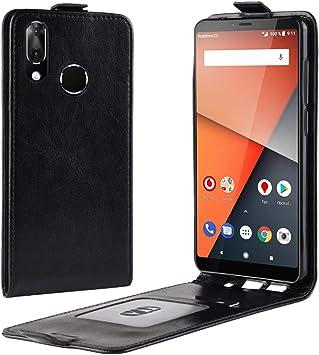 HualuBro Funda Vodafone Smart X9, Carcasa de Protectora Cuero PU ...