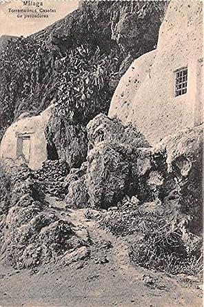 Torremolinos Casetas de Pescadores Malaga Spain Postcard