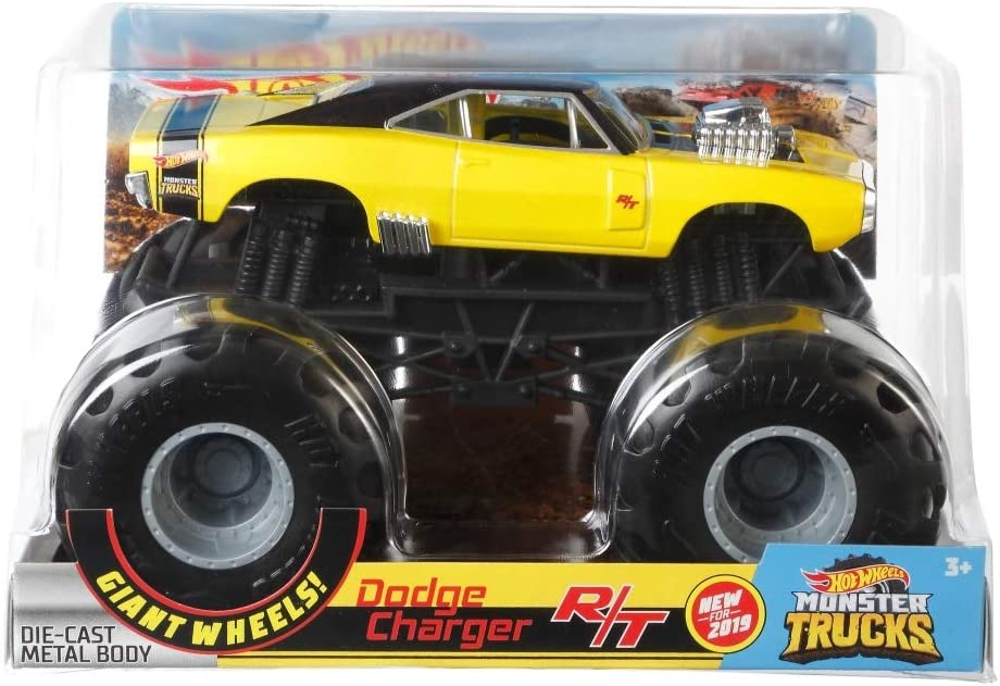 HOT WHEELS MONSTER TRUCKS 1:24 DODGE CHARGER R/T Vehicle