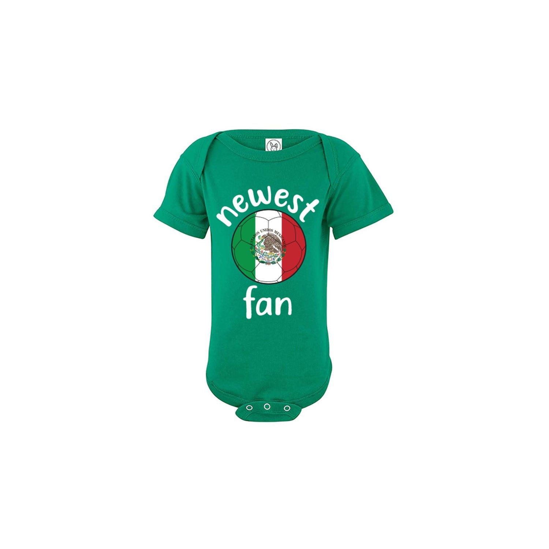 nobrand Mexico Baby Bodysuit Soccer Ball Infant Baby Girls Boys T-Shirt