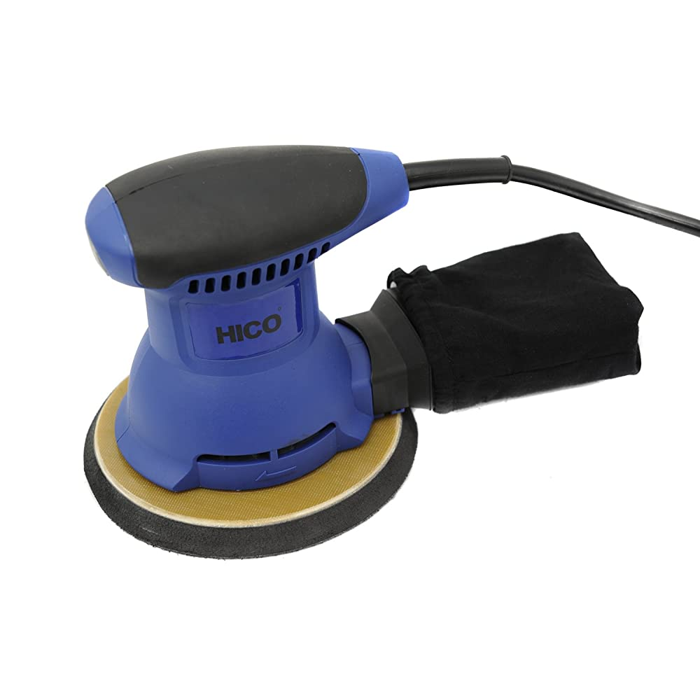 HICO HET-205 2.0-Amp 6 Inch Random Orbital Palm Sander with Cloth Dust Bag Review