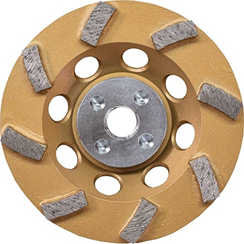Makita A-96403 Anti-Vibration Diamond Cup Wheel, 8 Segment Turbo, 4-1/2