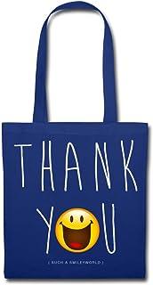 Spreadshirt Smiley World Thank You Danke Stoffbeutel