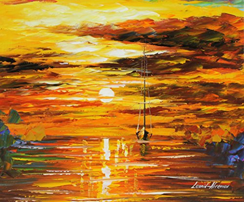 STRONG SUN an ORIGINAL OIL PAINTING ON CANVAS by Leonid AFREMOV