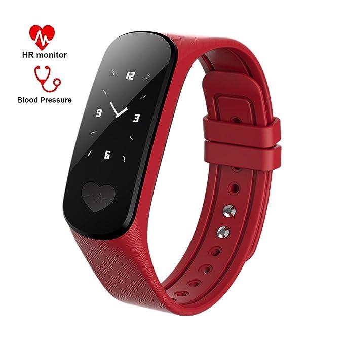 Bluetooth Pulsera Inteligente MOREFINE Smartband Deportiva Fitness ...