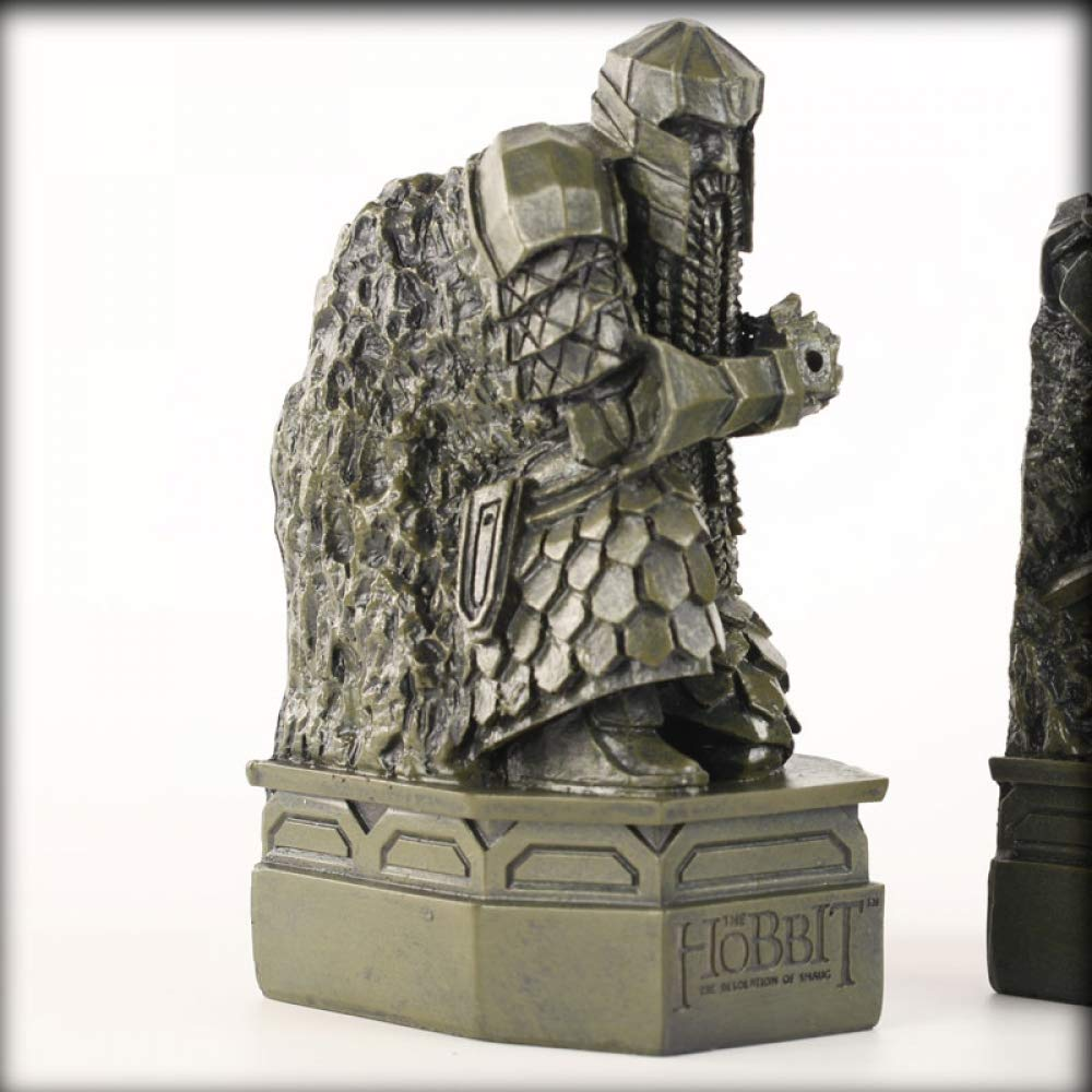 CUIAIDING Statue Herr der Ringe Figur Modell Kreative Statue Hobbit Charakter Zwerg statueSpielzeug Modell Buchst/ützen Dekoration Handwerk
