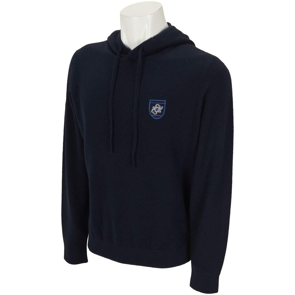 ZOY ゾーイ 中間着(セーター、トレーナー) AURORA フード付き長袖セーター LL ネイビー B07KR6LC1Q