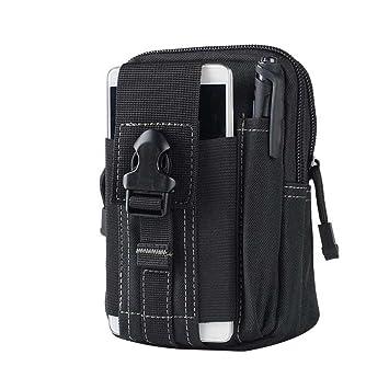 Rokoo Torsión táctica del monedero táctico de los hombres impermeables Fanny empaqueta el bolso móvil de la bolsa 5.5inch