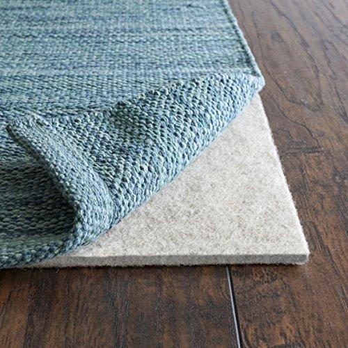 """Rug Pad USA, 1/4"""" Thickness,  3'x5', Eco Plush Felt Rug Pads- Preserve Rug, Protect Floor"""
