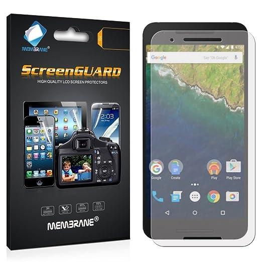 12 opinioni per 3 x Membrane Pellicola Protettiva Huawei Nexus 6P- Trasparente, Confezione ed