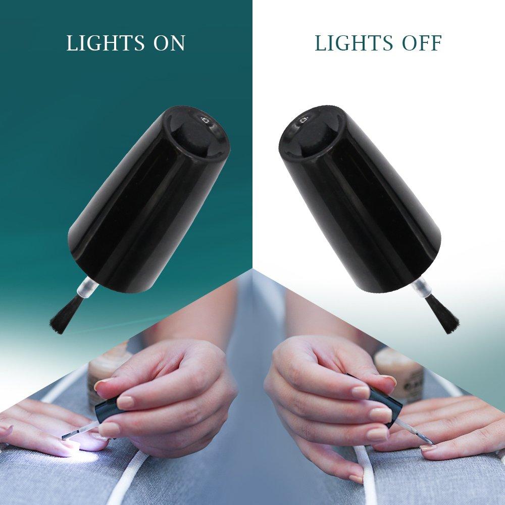 Amazon.com: NRB Lumina - Tapón para esmalte de uñas LED ...