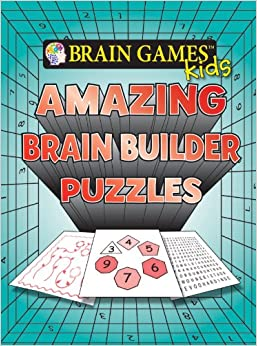 Book Brain Games for Kids: Amazing Brain Builder Puzzles