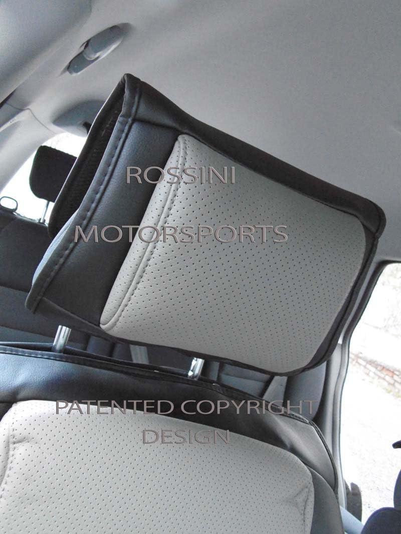 Car YS03 Fundas de Asiento de Respaldo para BMW I3 Color Negro y Gris Rossini Motorsports Ltd R