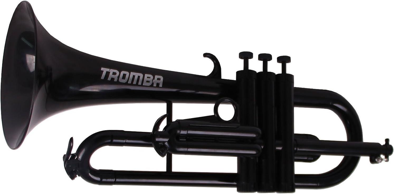 Tromba TF-BL Pro Professional Plastic BB Flugelhorn, Black