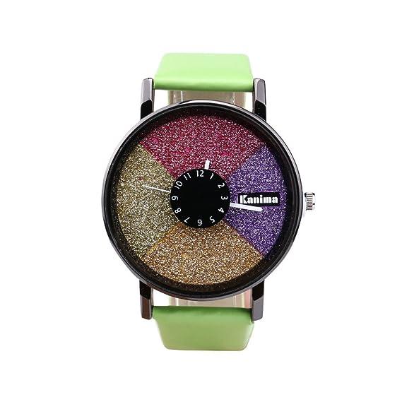 Damen Luxus Mädchen Modisch Armbanduhr Quarz Analog Traumzimmer qpzVSUGLM