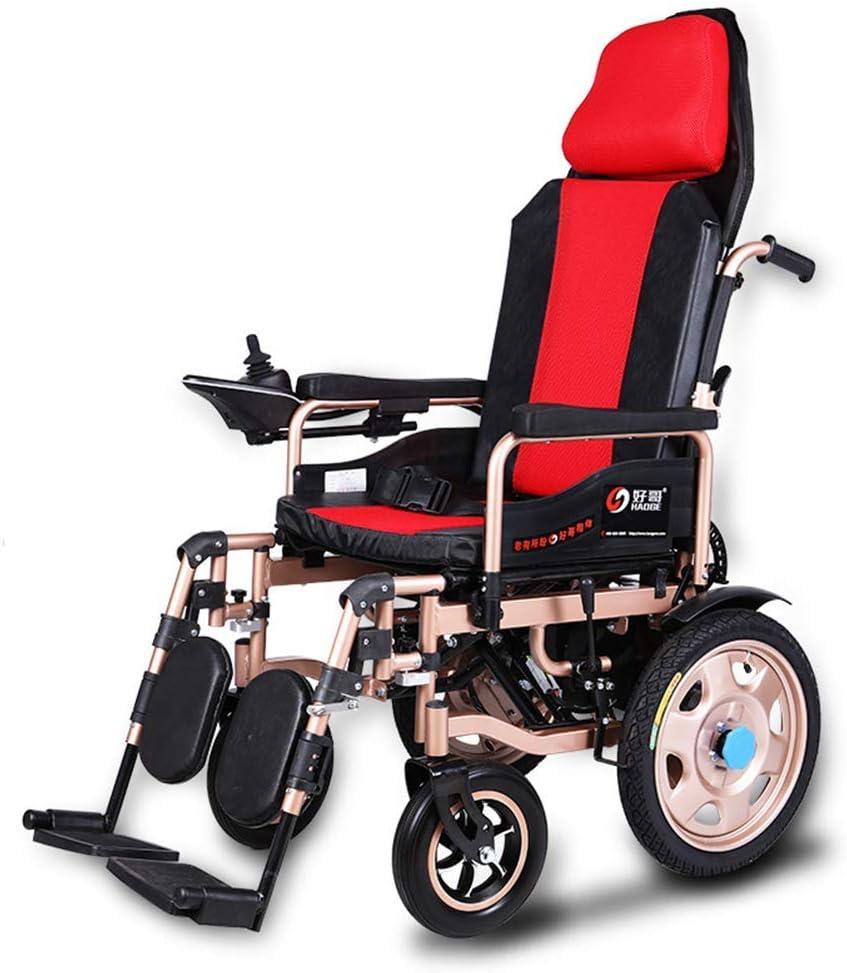 ヘビーデューティ電動車椅子、折りたたみ式軽量電動車椅子、360°ジョイスティック、重量容量100KG