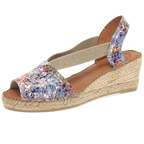 2f69496a9e2c1 Toni Pons Teide PM Womens Wedge Heel Espadrilles: Amazon.co.uk ...