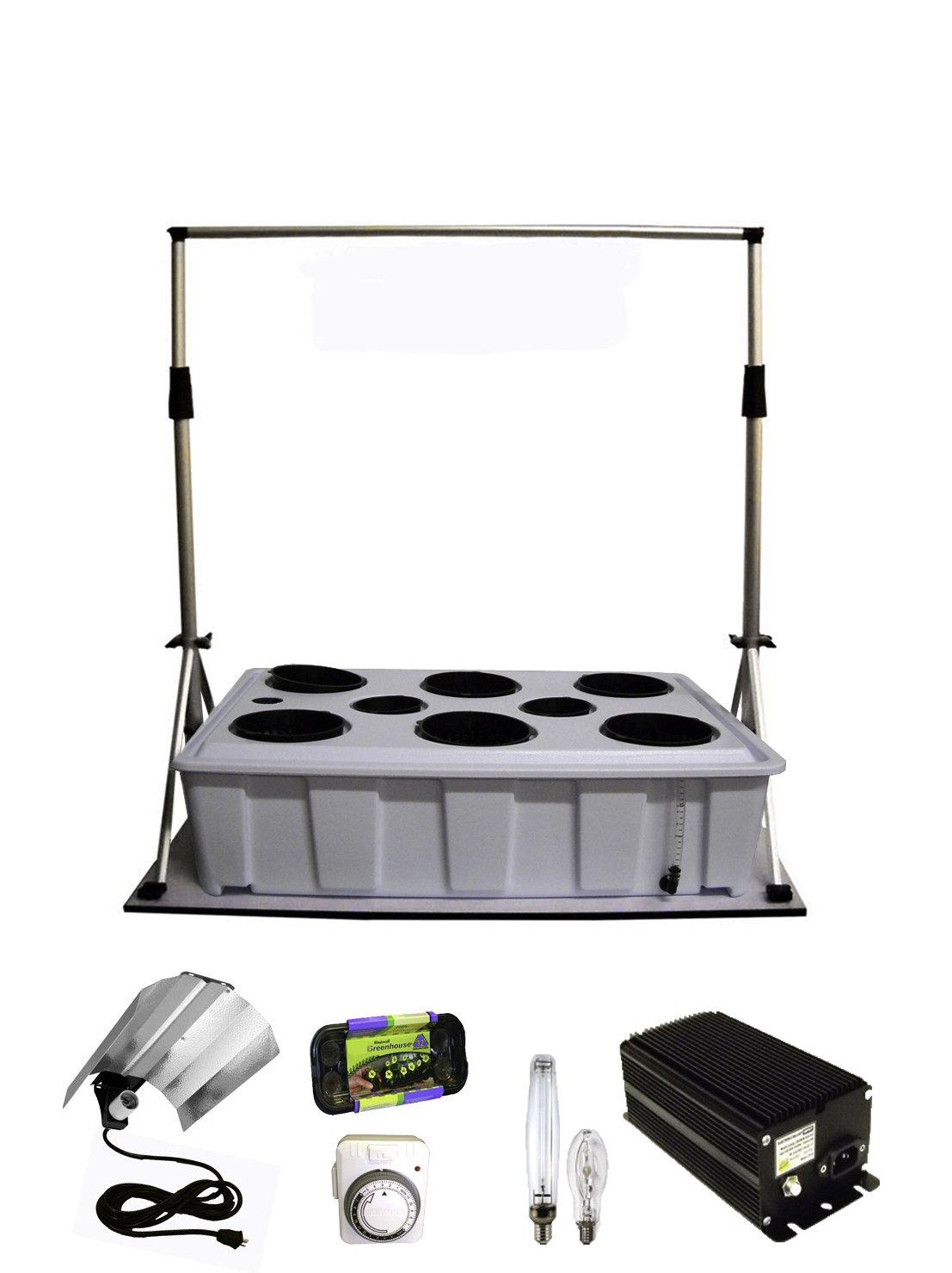 Tucker's Pride LAG4K Anywhere Garden Kit with Grow Light System, 400-watt