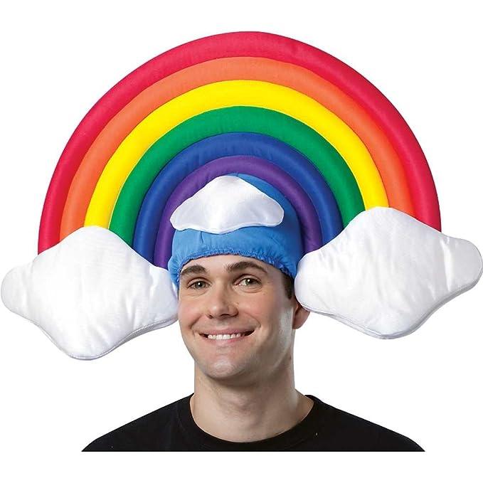 97de4d2707d3c Rainbow Circle Rasta 3038 Gran Medio y nubes Traje Sombrero  Amazon.es   Juguetes y juegos