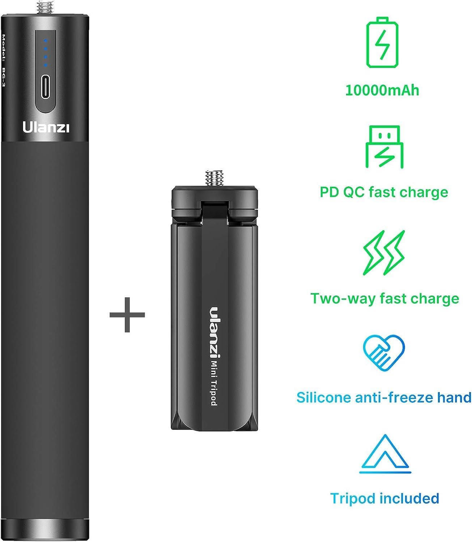Ulanzi BG-2 Shooting Charging Stick Power Bank Handle for Sony Mirrorless Camera