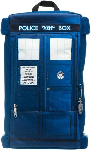 Doctor Who Tardis Boucle Sac à bandoulière Sac à Main Dr Who Police Box Sac à dos Sac à dos