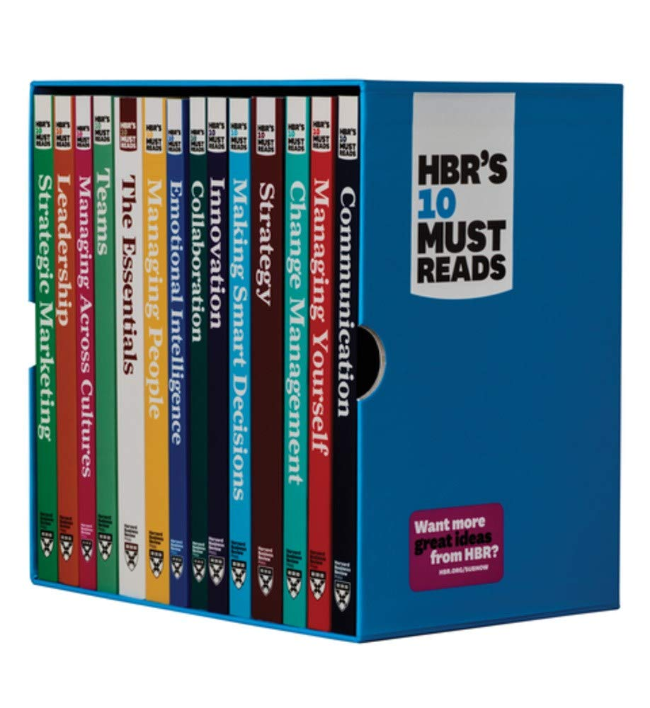 HBR's 10 Must Reads Ultimate Boxed Set (14 Books) by Harvard Business Review Press
