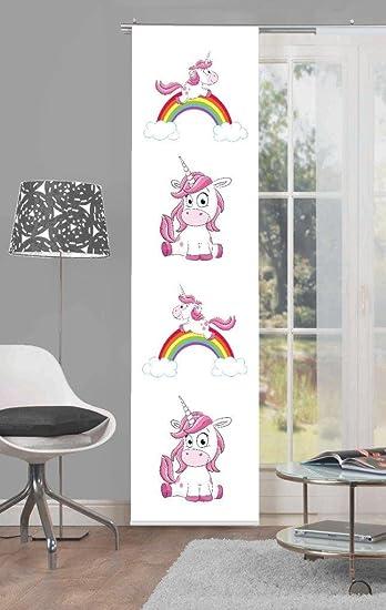 Amazon De Home Fashion Einhorn Regenbogen Digitaldruck