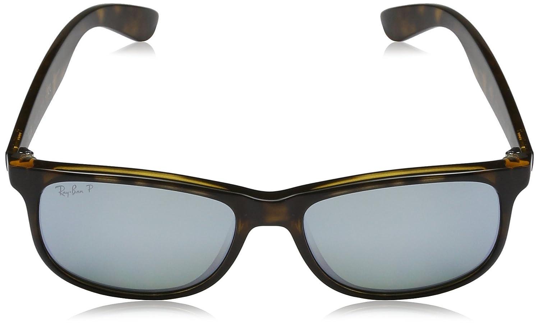 25e25f6664 Amazon.com  Ray-Ban Men s Andy Polarized Square Sunglasses