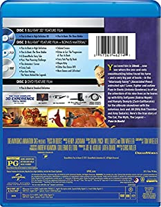 Puss in Boots (Three-Disc Combo: Blu-ray 3D/Blu-ray/DVD/Digital Copy) from Universal Pictures Home Entertainment