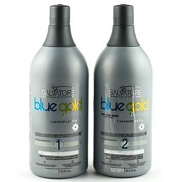 ecfd7bd2bc802 Salvatore Premium Blue Gold Progressive Brush 2x1L - Salvatore   Amazon.co.uk  Beauty