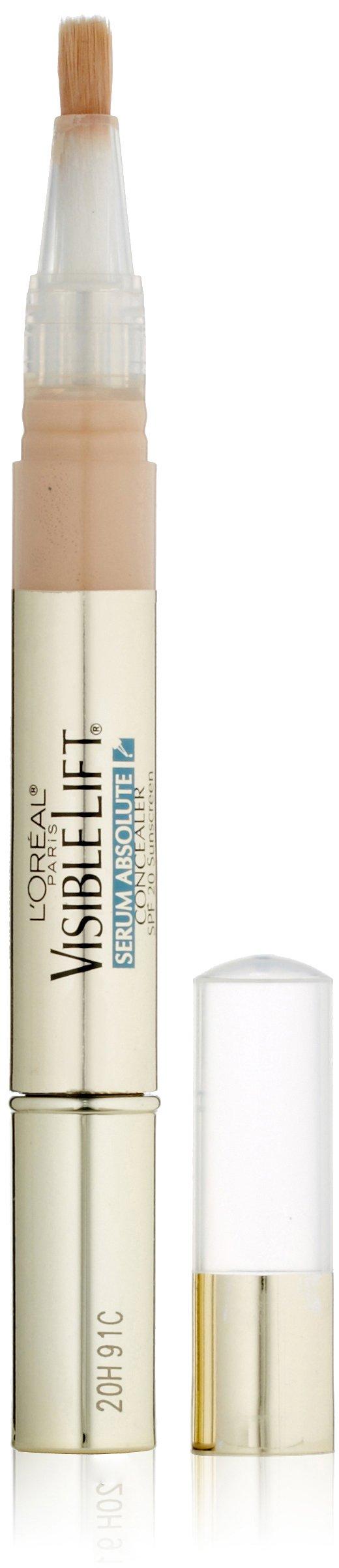 L'Oréal Paris Visible Lift Serum Absolute Concealer, Fair, 0.05 fl. oz.