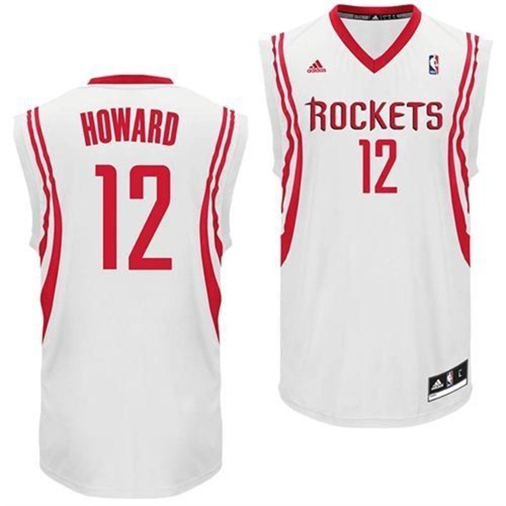 Amazon.com  Adidas New Swingman Dwight Howard Houston Rockets Jersey Youth  White Rev 30  Clothing 36871eab5f7b