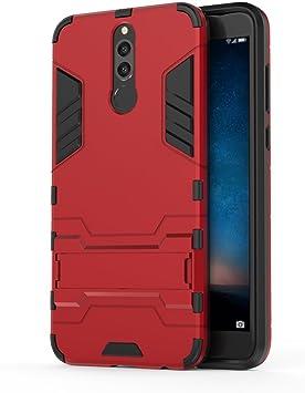 bdeals Huawei Mate 10 Lite Funda 2in1 Duro PC + Suave TPU High Absorción de Impacto [Kickstand] Armor Carcasa Case para Huawei Mate 10 Lite: Amazon.es: Electrónica