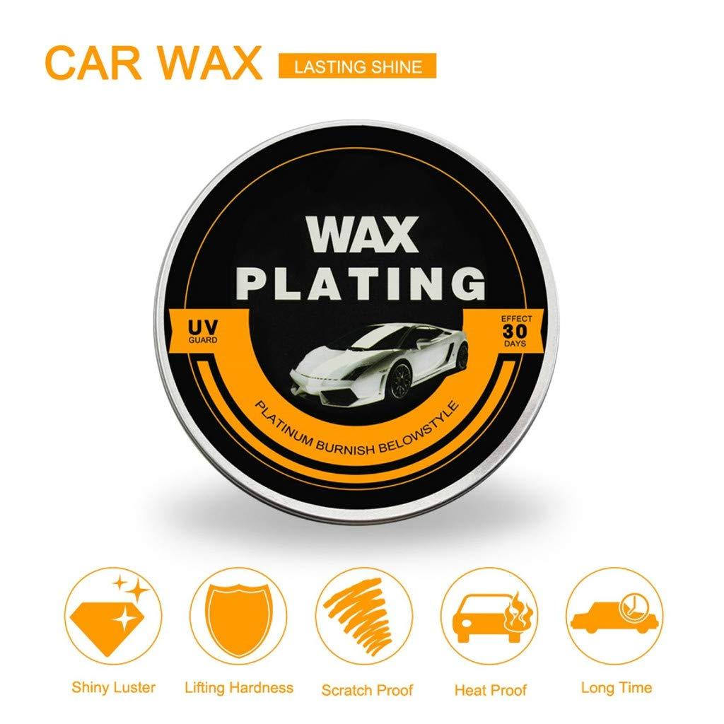 Sonmer Car Care UV Guard Coated Plating Wax, Polishing Hardening Protect Film