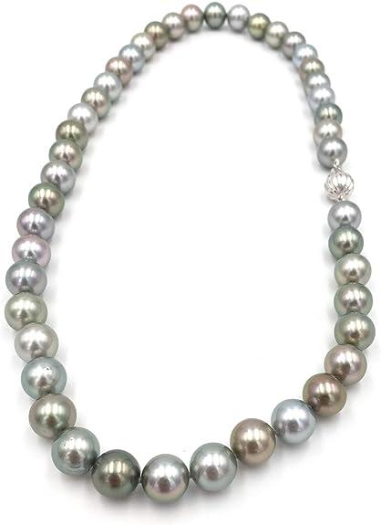 collier femme perles couleur