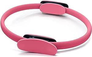 Anel de Pilates Circulo Mágico de Yoga Isometria Rosa 38cm