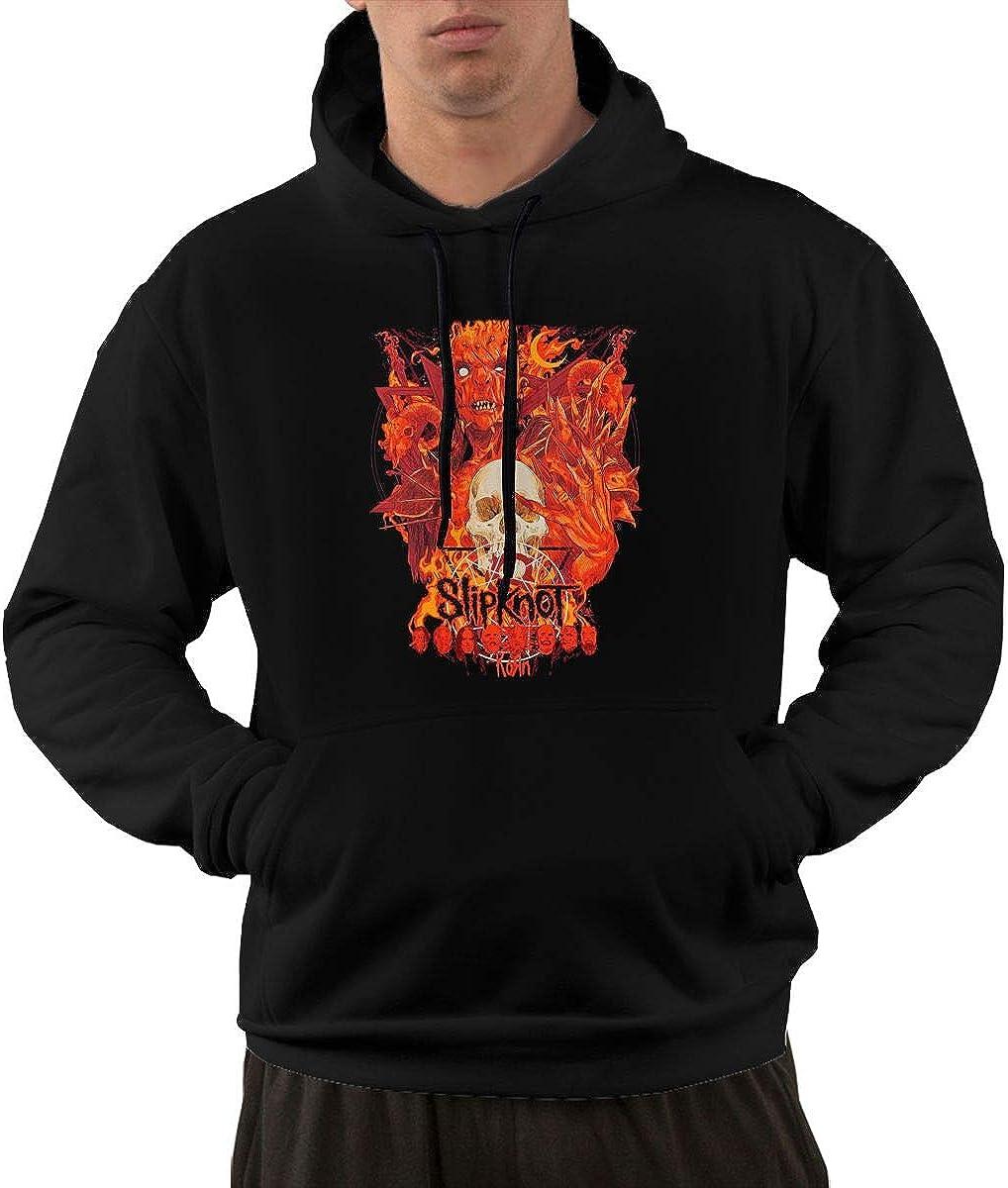 TIANBA Classic Slipknot Devil Hoodies for Mans Black