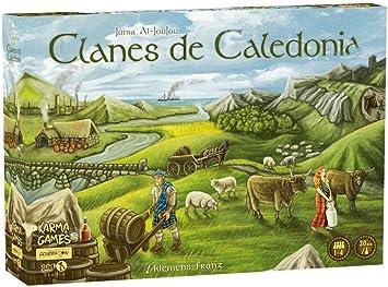 Generación X Clanes de Caledonia (edición en Castellano) Juego de ...