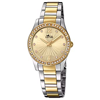 Lotus Grace 18384/1 Wristwatch for women With Zircons