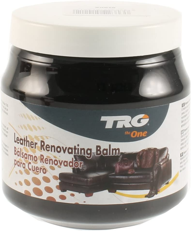 Leather Renovating Balm 300ml for All Leather Materials, Sofas, Car Seats, Leather Furniture, 300 ml - 10.14 fl. Oz. (Black)