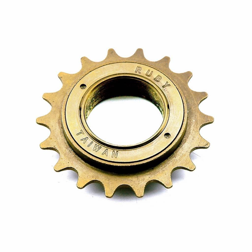 Pignone ingresso City BMX freestyle fisso fixed 18 denti per bicicletta V BIKE 966