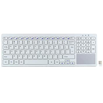 wireless keyboard with touchpad for windows 7