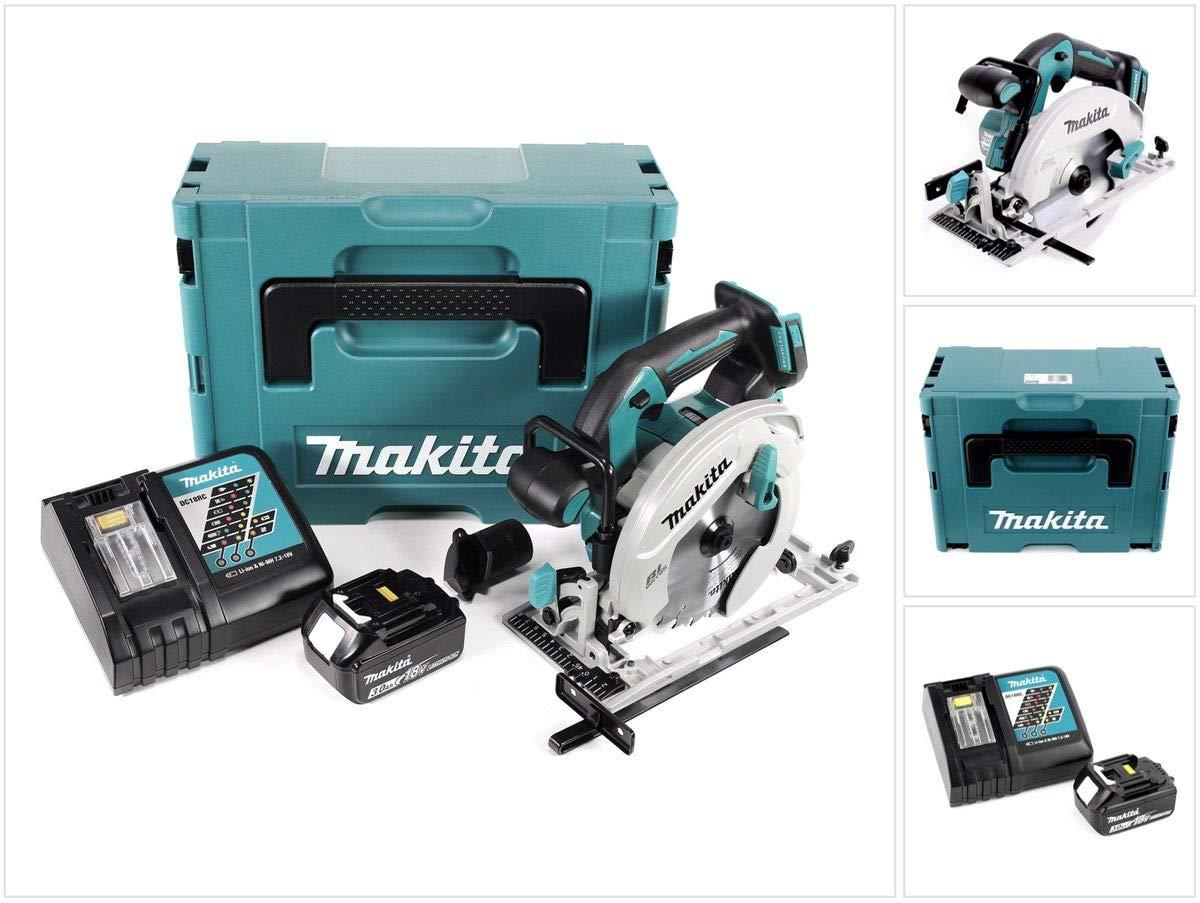 Makita Dhs 680 rf1j mano batería de 18 V sierra circular 165 mm ...