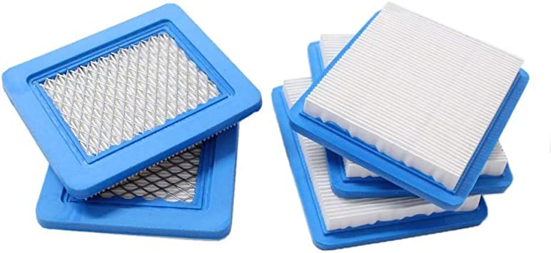5Pcs Air Filter Lawn Mower Fit for Briggs /& Stratton 491588 491588S 399959